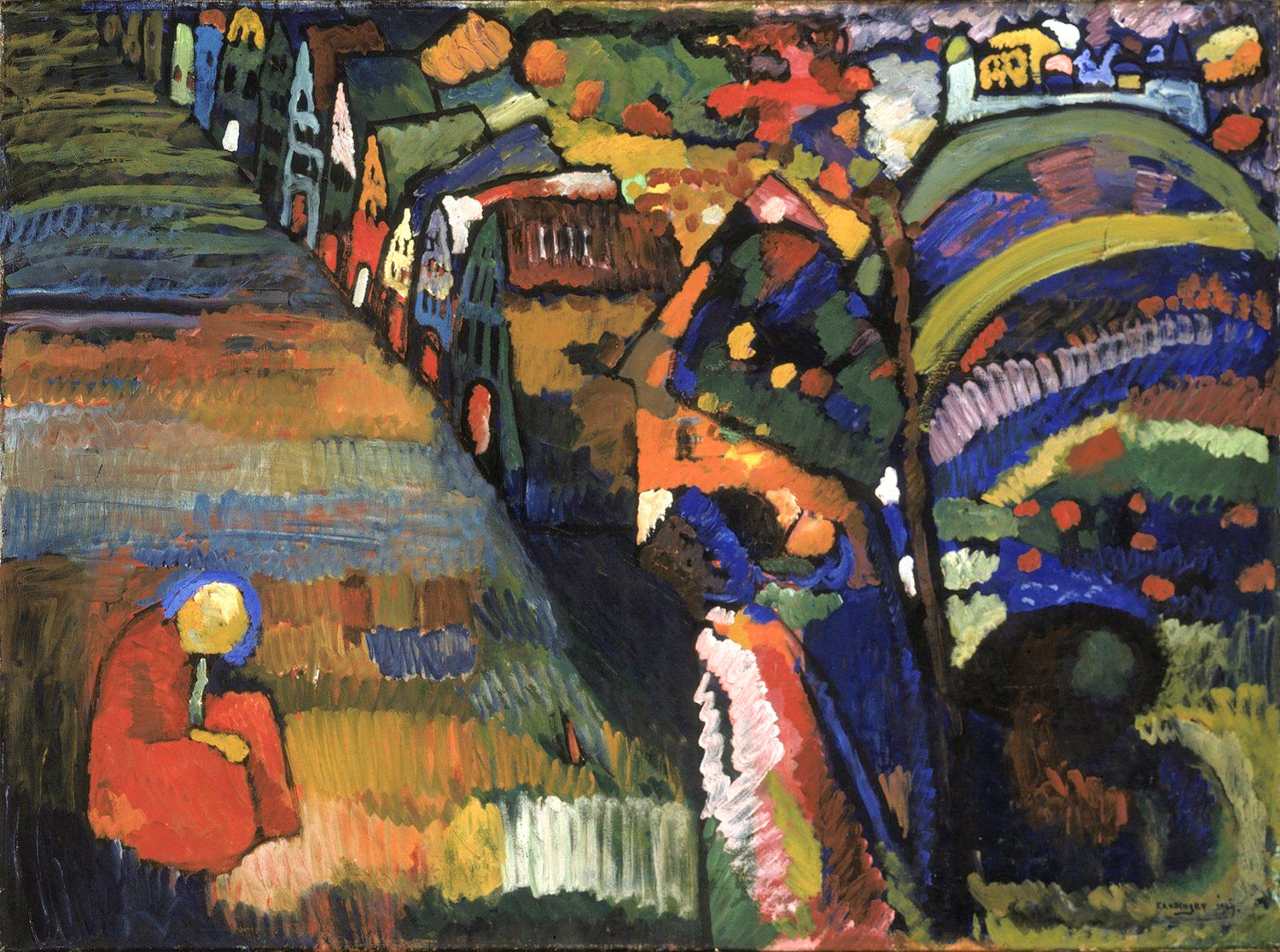 "Irma Klein sold ""Painting with Houses"" by Wassily Kandinsky in 1940 after the Nazis occupied the Netherlands."