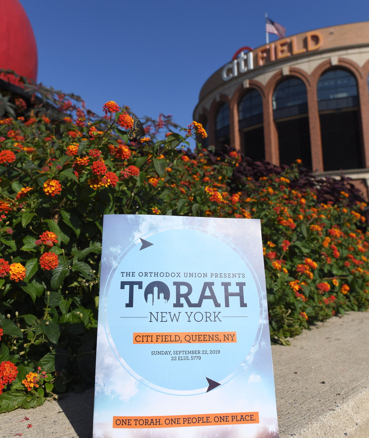 All roads lead to Torah … at the OU's third annual Torah NY at Citi Field on Sunday.