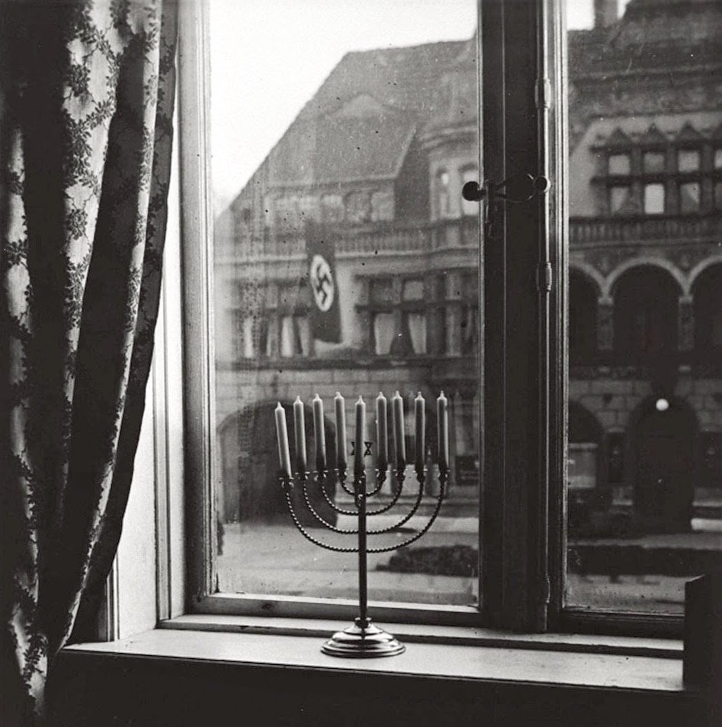 """Chanukah 5692. 'Judea dies,' thus says the banner.