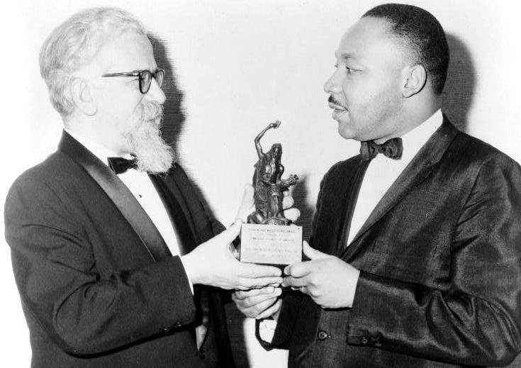 Rabbi Abraham Joshua Heschel and the Rev. Dr. Martin Luther King Jr.