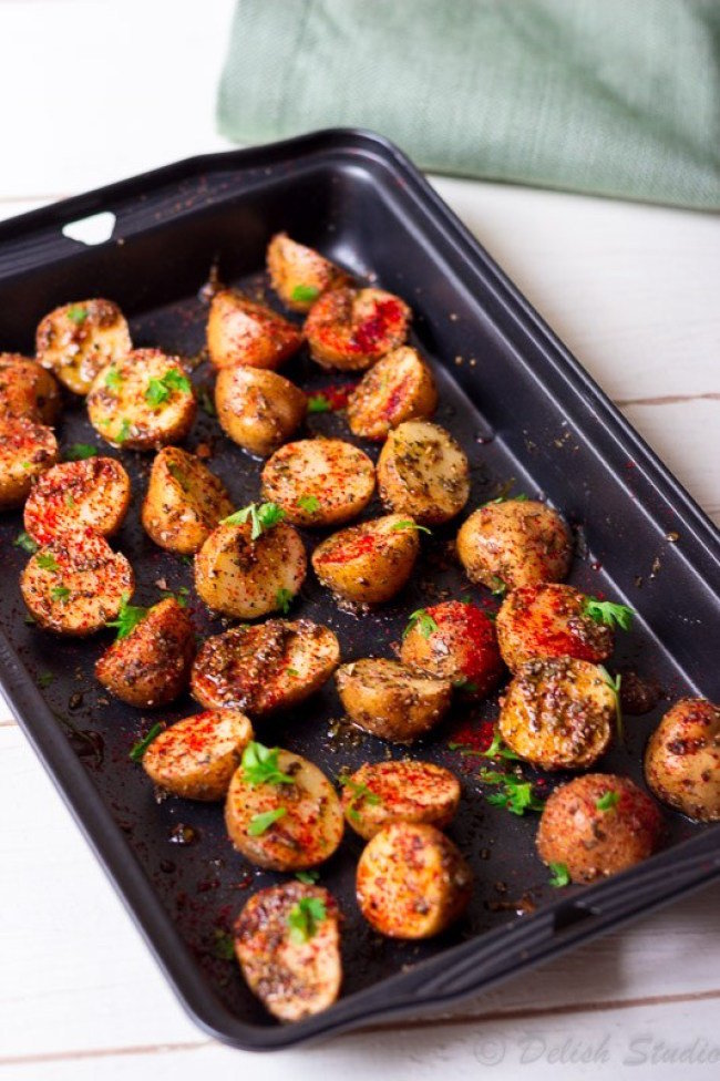 Spicy Baby Potatoes