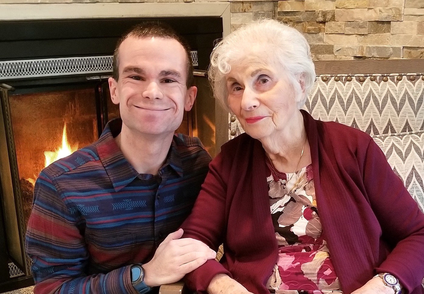 Geoffrey Sorenson was unable to comfort his grandmother, Gerda Garbatzky of Huntington Station, when she was dying from the coronavirus.