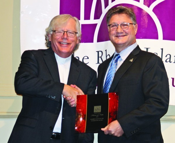 Rev. Dr. Donald Anderson and Rabbi Alan Flam.