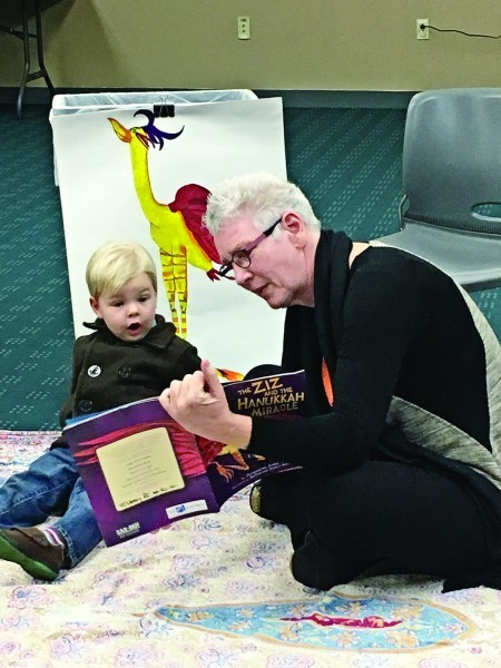 Storytime with PJ Library was part of the recent festivities   at the Hope Street Stroll.