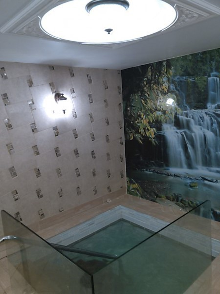 The mikveh in Warwick was dedicated in   the fall of 2016.