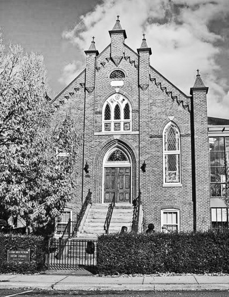 Congregation Beth Israel synagogue in Charlottesville.