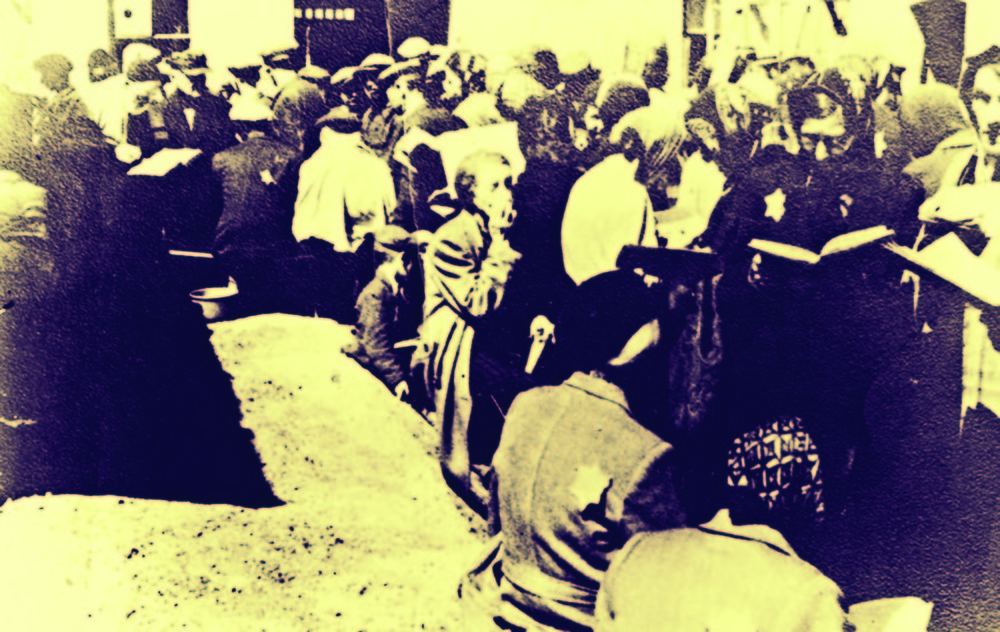 Yom Kippur in the Lodz ghetto.