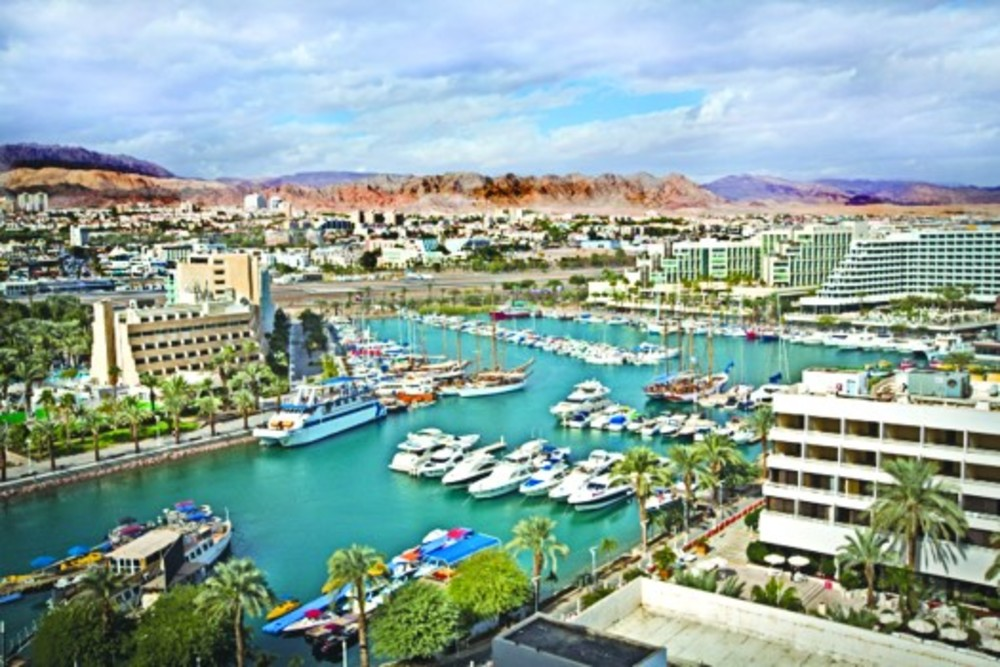 A panoramic view of the southern Israeli city of Eilat. /Moshe Shai/Flash90