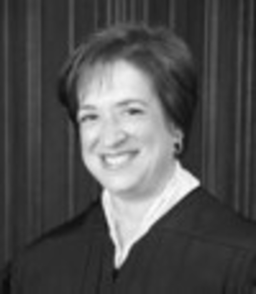 Associate Justice Elena Kagan  /U.S. Supreme Court