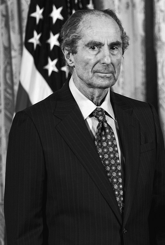Philip Roth at the National Humanities Medal ceremony at the White House, March 2, 2011.