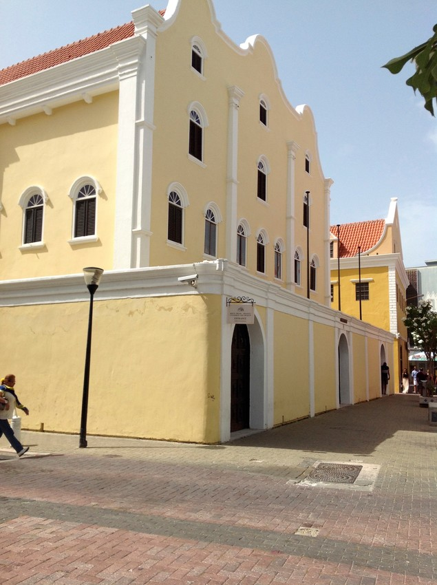 Congregation Mikvé Israel-Emanuel, in Curaçao, today   the oldest synagogue in continuous use in the Americas.
