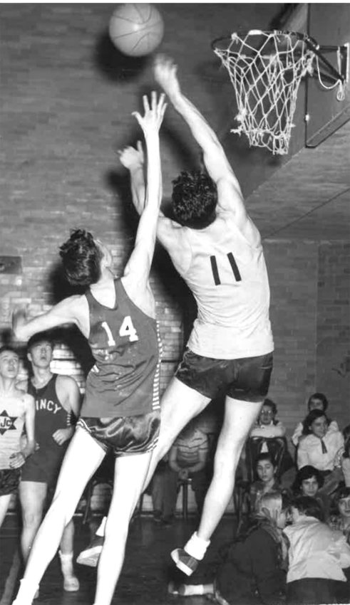 JCC Boys basketball probably from 1950s.
