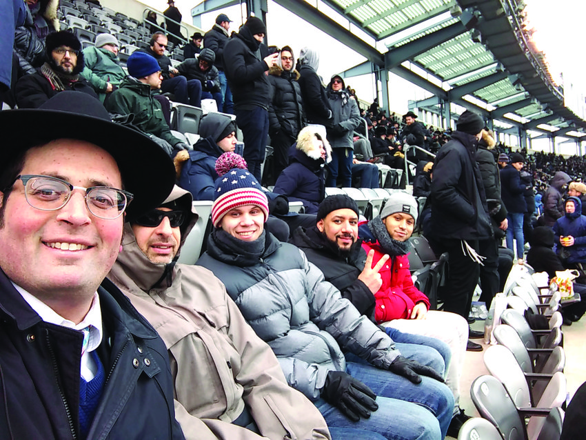 Rhode Islanders joined others at MetLife Stadium for the Siyum.