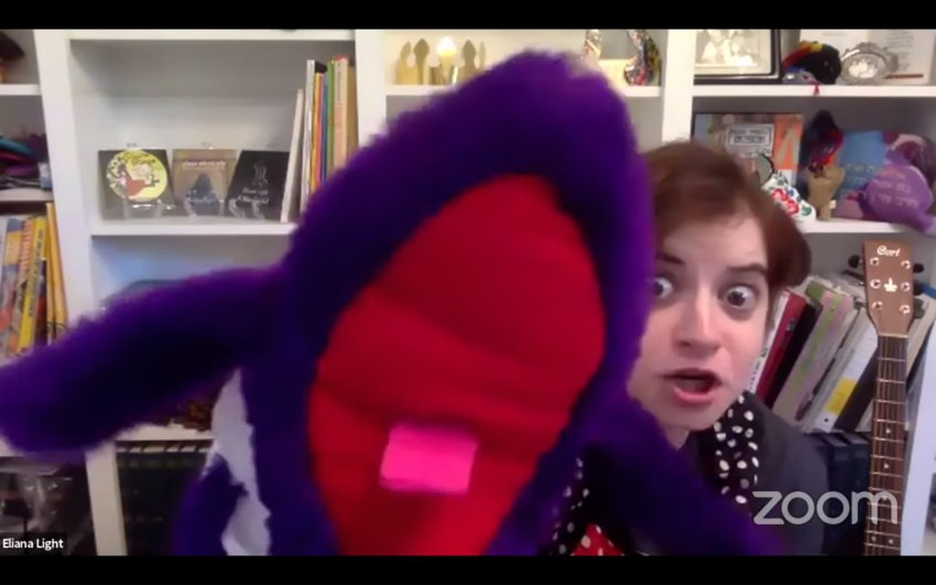 """""""Eliana Light... And Friends!"""" is a Jewish children's show that airs weekly on jewishLIVE."""
