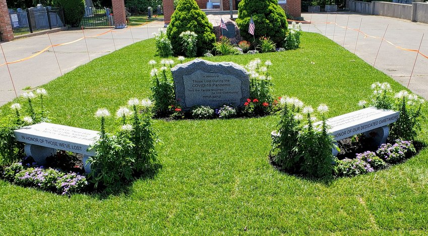 Boston's Jewish community has unveiled a memorial to COVID-19 victims even as the pandemic continues.