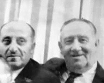 M. Charles Bakst sent us this photo of Dr. Cooperstein, left, with Lester Bakst.