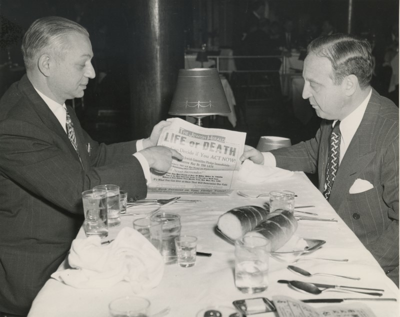 Discussing the 1947 campaign.