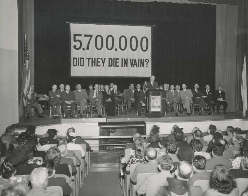 Mass rally for the 1948 campaign.