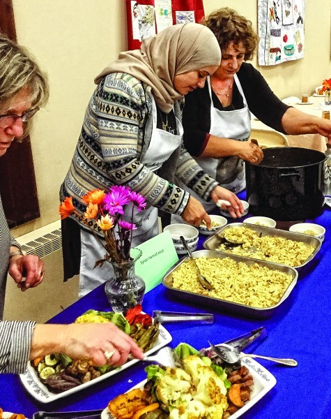 Miriam Zoabi, left, and Emma Gal, collaborate 