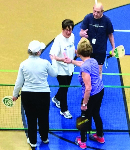 Scenes from season 1 pickleball play
