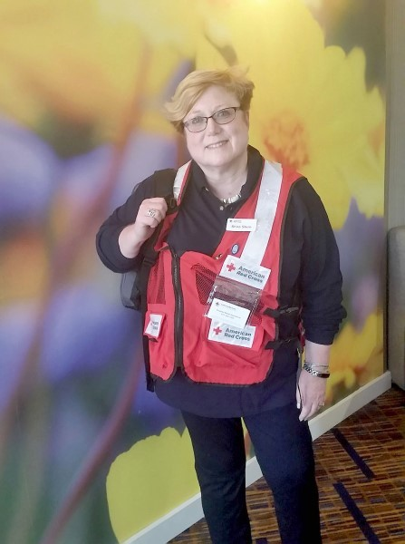 Rabbi Shira Stern of Marlboro, New Jersey, is a disaster spiritual care provider for the American Red Cross.