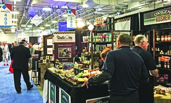 Kosherfest is the world's largest kosher food trade show