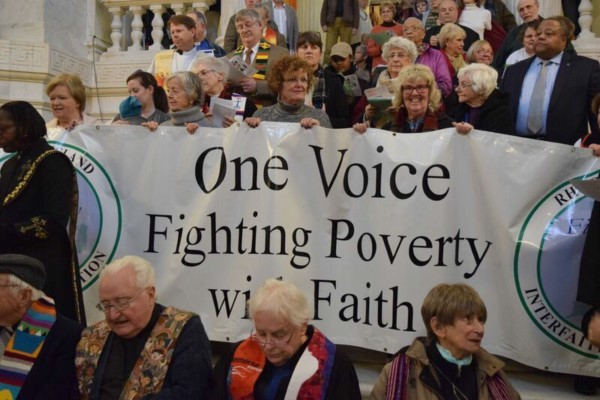 March against poverty