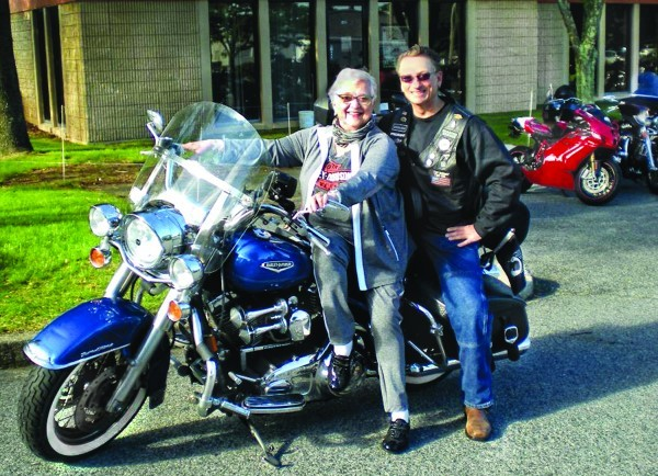 Riding for the Holocaust Education Center.
