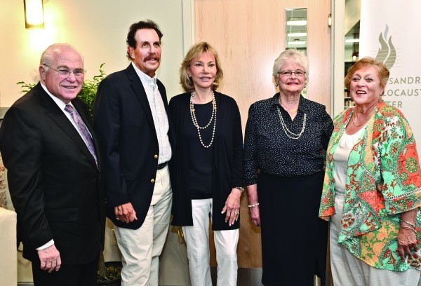 The Sandra Bornstein Holocaust Education Center celebrated the move to its new space in the Alliance's Dwares Jewish Community Center.
