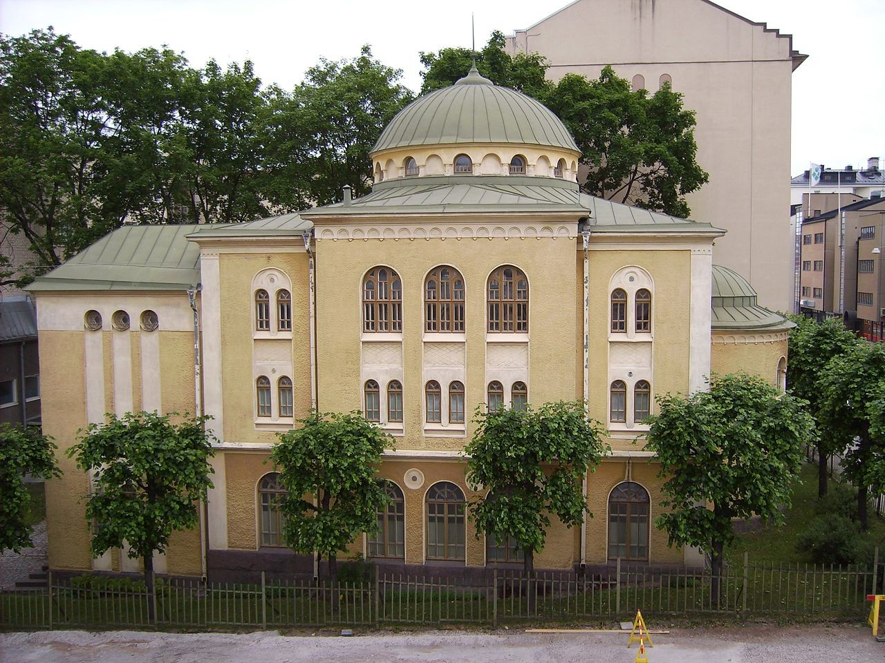 This synagogue in Turku is one of the two in Finland.