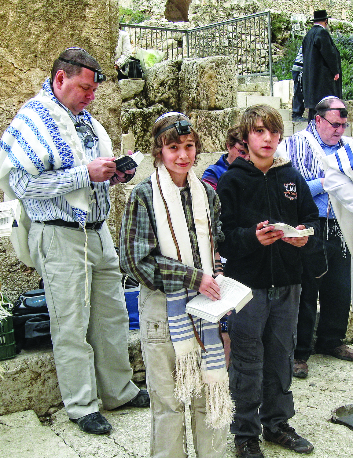 The trips to Israel started with Kevin Sock's Bar Mitzvah 