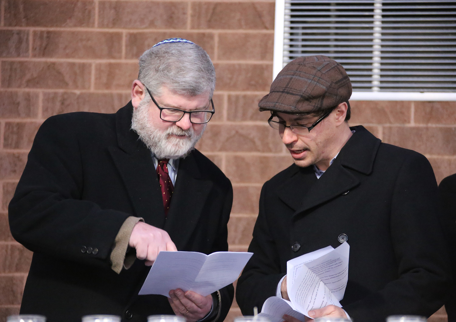 Rabbis Jeffrey Goldwasser and Barry Dolinger