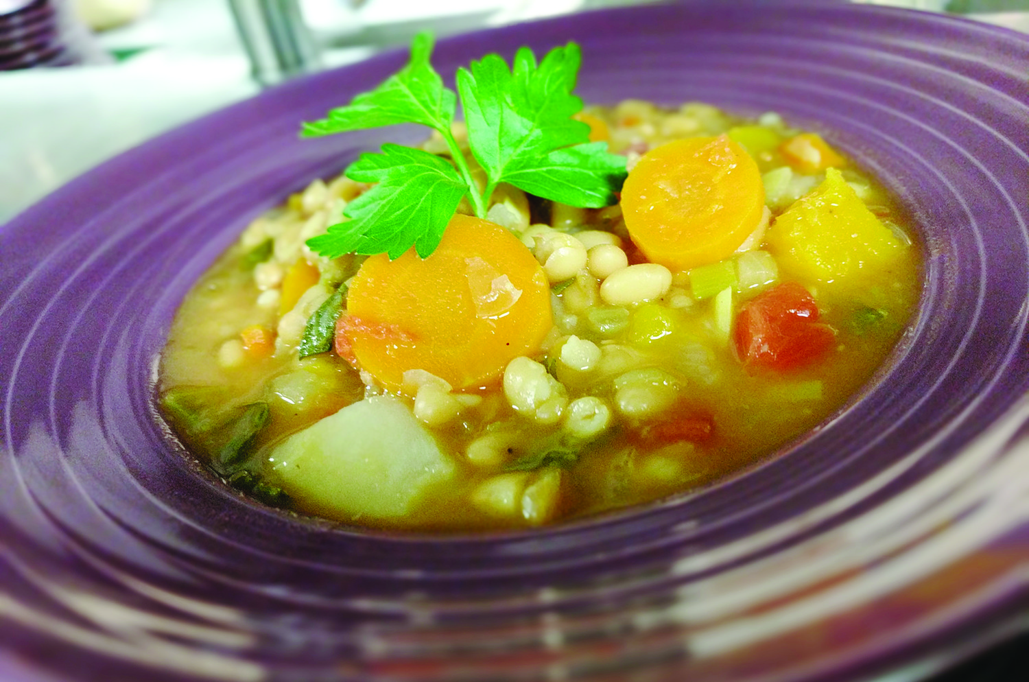Winter Vegetable & Bean Soup