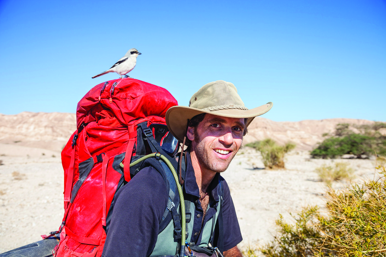 Udi Goren, a well-known photographer and videographer whose work has appeared on the National Geographic Channel, is the first professional still photographer to have walked and documented the Israel National Trail.