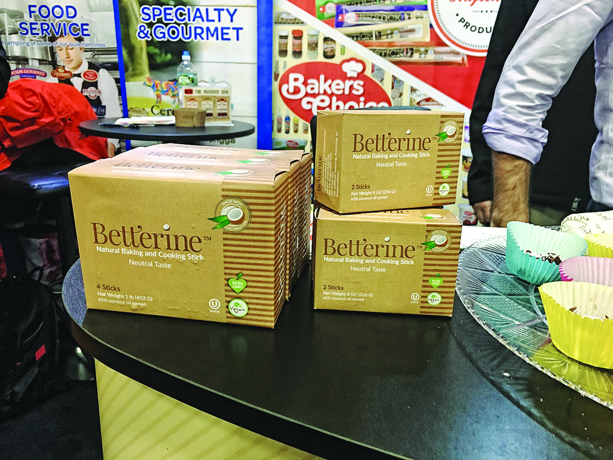 Betterine is one of many new Kosher product soon 