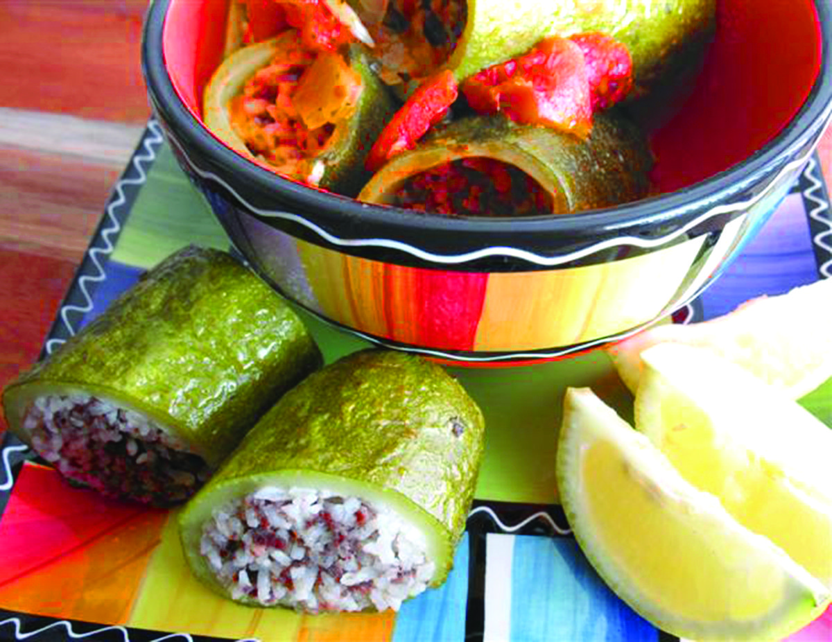 Mehshi Kusa Hamod with Hashu, and Beida bi'lemouneh