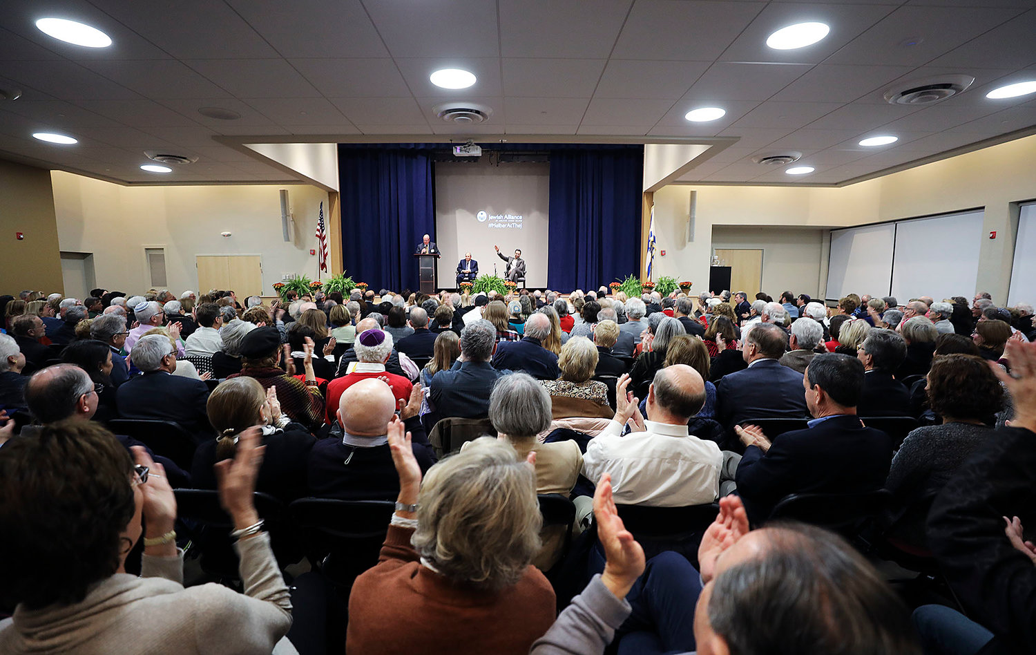 The Baxt Social Hall at the Dwares Jewish Community Center was filled to capacity Nov. 3 for the Jewish Alliance's Campaign Event.