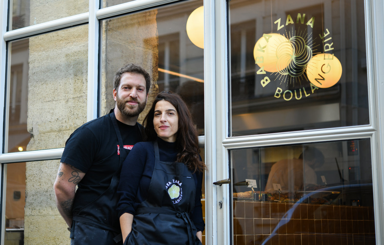 Emmanuel Murat and Sarah Amouyal are the husband-wife team behind Babka Zana in the Pigalle neighborhood.