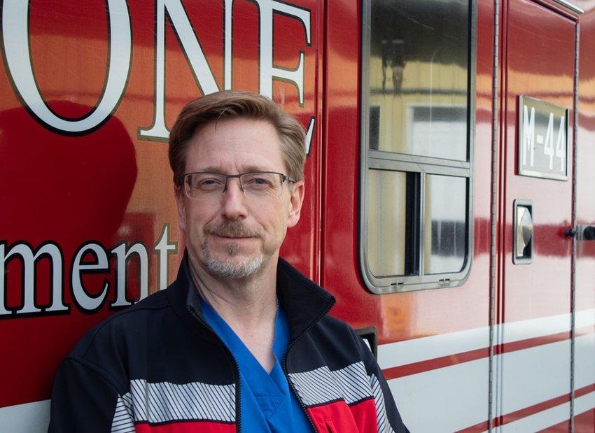 St. Anthony Hospital ER physician Dr. John Campbell.