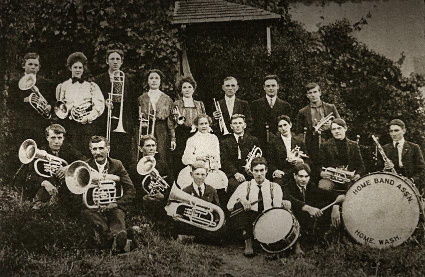 The Home Band circa 1907