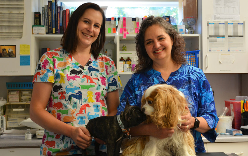 Dr. Justine Zingsheim-Nadeau and Dr. Lisa Woods