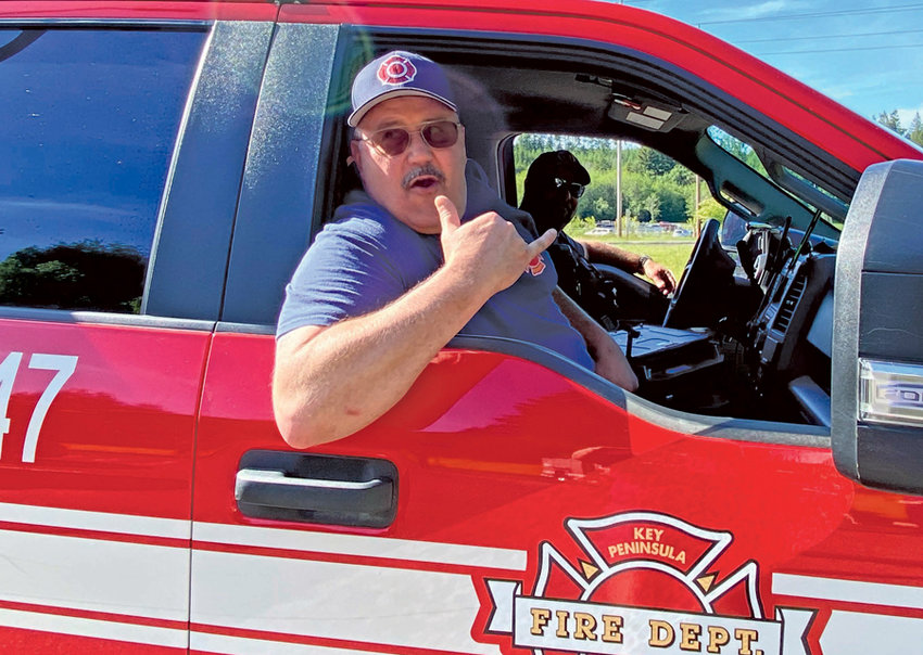 Mike Reigle's last day in the KP Fire Department