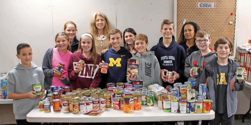 Wantagh Middle School Pays It Forward On Thanksgiving