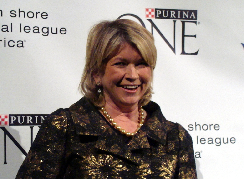 Martha Stewart,TV personality, Purina ONE and the One Hope Network Spokesperson
