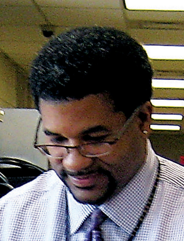 Former Baldwin Middle School Principal James Brown, seeking to overturn a guilty verdict handed down by a federal jury last May, is currently working at the Baldwin District Office.