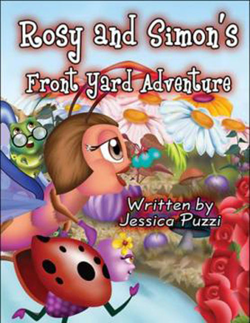 "Jessica Puzzi, of Malverne, wrote a children's book, ""Rosy and Simon's Front Yard Adventure,"" as a reflection of her own journey."