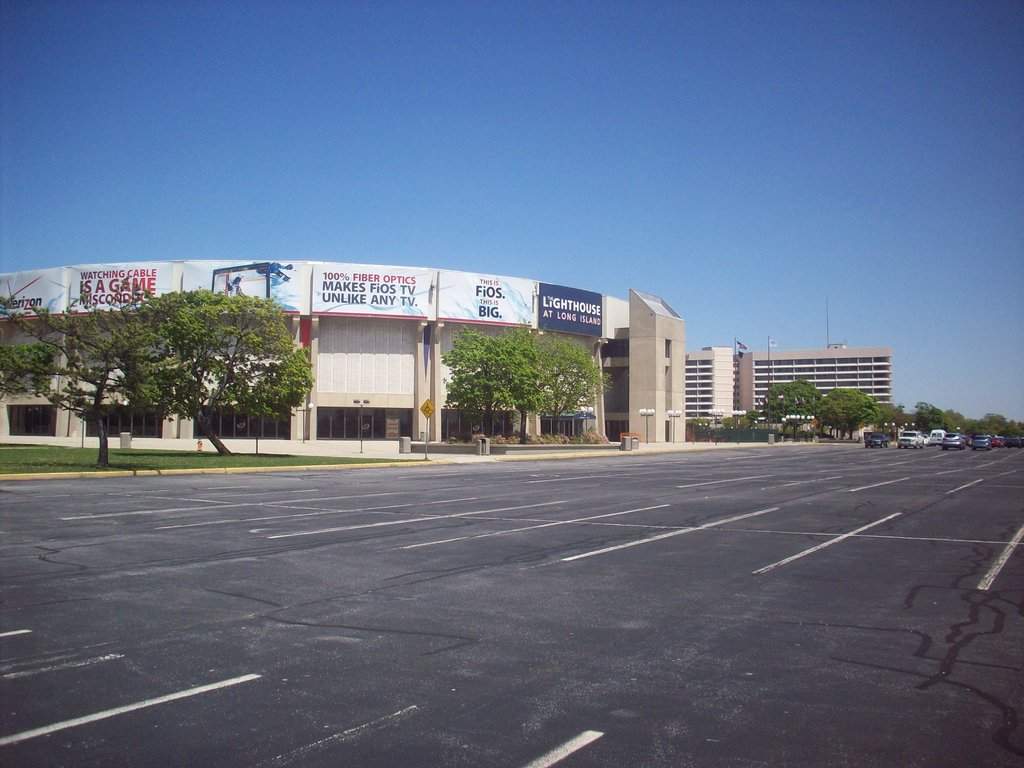 The Nassau Veterans Memorial Coliseum property in Uniondale.