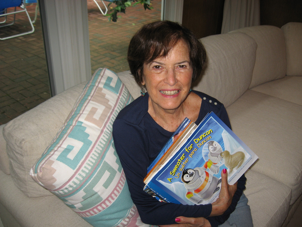 Children's author Margaret Gay Malone.