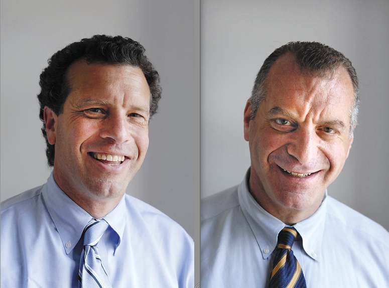 Stuart, left, and Cliff Richner have agreed to acquire L&M Publications, which produces the Freeport-Baldwin Leader, Merrick Life, Bellmore Life and Wantagh-Seaford Citizen.