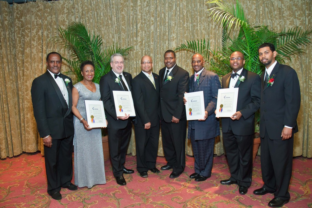 Henry Holley, left, chairman of the 2011 Annual Scholarship Gala; Gerry